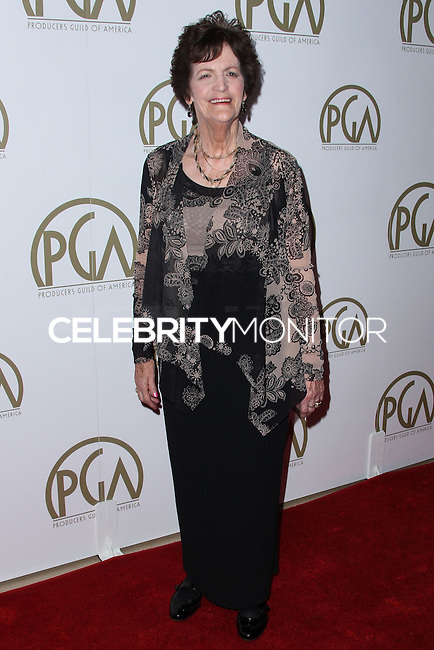 BEVERLY HILLS, CA - JANUARY 19: Philomena Lee at the 25th Annual Producers Guild Awards held at The Beverly Hilton Hotel on January 19, 2014 in Beverly Hills, California. (Photo by Xavier Collin/Celebrity Monitor)