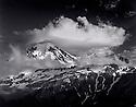 BW02207-00....WASHINGTON - Mount Baker from Cougar Ridge in the Mount Baker Wilderness