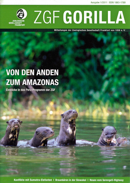 ZGF Magazine, Frankfurt Zoological Society