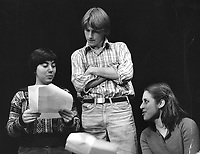 Denis Leary and Rhea Becker in a performance in the 1970s. Alumni