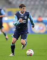 Fussball 2. Bundesliga:  Saison   2012/2013,    16. Spieltag  TSV 1860 Muenchen - SC Paderborn  27.11.2012 Moritz Volz (1860 Muenchen)