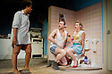 "London, UK. 13/06/2011.  ""Realism"" by Anthony Neilson has it's UK premiere at the Soho Theatre, London. Picture shows Golda Rosheuvel (as Angie), Tim Treloar (as Tim) and Robyn Addison (as Laura). Photo credit should read Jane Hobson"