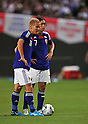 (L to R) Keisuke Honda (JPN), Yasuhito Endo (JPN), AUGUST 10, 2011 - Football / Soccer : KIRIN Challenge Cup 2011 match between Japan 3-0 KOREA at Sapporo Dome, Hokkaido, Japan. (Photo by Atsushi Tomura/AFLO SPORT) [1035]
