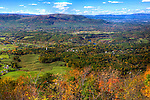 The city of Front Royal, Virginia is nestled among the peaks and rustic landscape of the Blue Ridge Mountains.