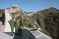 October 1984. The Great Wall is one of the world marvel and one of the most visited monuments in the world. It cost the country a great deal of time to renovate few miles of the Wall near Beijing, to satisfy the tourist's curiosity. The renovation for that part of the Wall finished last year.