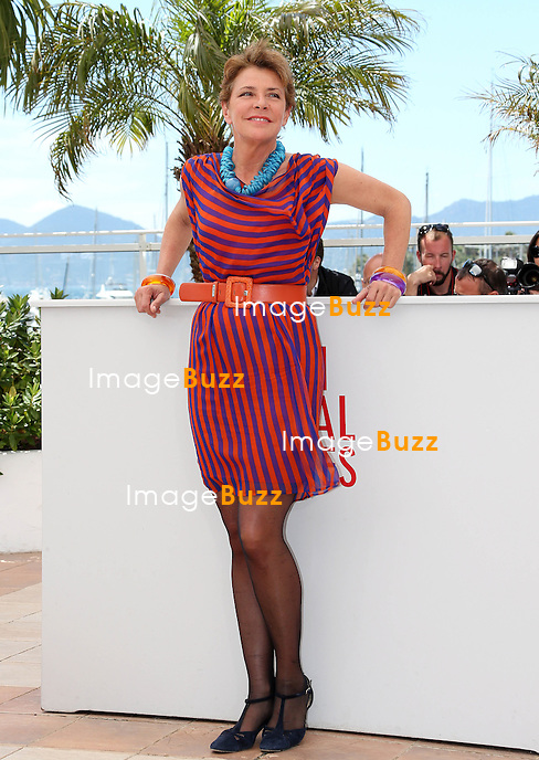 CPE/Actress Pamela Villoresi attends the 'La Grande Bellezza' Photocall during The 66th Annual Cannes Film Festival at the Palais des Festivals on May 21, 2013 in Cannes, France.