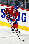 22 March 2010: Montreal Canadiens' defenseman Roman Hamrlik initiates a rush in the first period against the Ottawa Senators at the Bell Centre in Montreal, Quebec, Canada. The Senators shut out the Canadiens 2-0 in their last meeting of the regular season. Mandatory Credit: Ed Wolfstein Photo