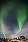 Aurora Borealis at Hveravellir, central highlands Iceland