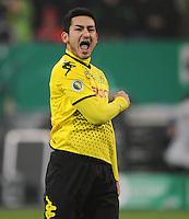 FUSSBALL   DFB POKAL   SAISON 2011/2012  ACHTELFINALE  Fortuna Duesseldorf - Borussia Dortmund              20.12.2011 Ilkay Guendogan (Borussia Dortmund)