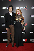 NEW YORK, NY November 15:Geoffrey Arend, Christina Hendricks at Broad Green Picture & Miramax's presents New York premiere of BAD SANTA 2 at AMC Loews Lincoln Square in New York City.November 15, 2016. Credit:RW/MediaPunch