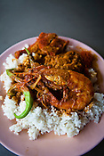 Nasi Kandar is posed for a photo at Line Clear in Georgetown in Penang, Malaysia. Photo: Sanjit Das/Panos