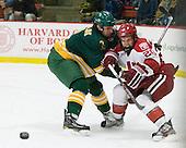 Nik Pokulok (Clarkson - 2), Luke Greiner (Harvard - 26) - The Harvard University Crimson defeated the visiting Clarkson University Golden Knights 3-2 on Harvard's senior night on Saturday, February 25, 2012, at Bright Hockey Center in Cambridge, Massachusetts.