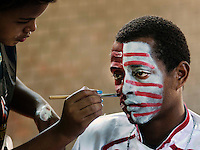 Patients of a mental hospital perform Rio Carnival