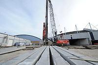 SCHAATSEN: HEERENVEEN: IJsstadion Thialf, 05-03-15, Ver(nieuw)bouw, ©foto Martin de Jong