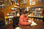 "Retired St. Louis Cardinals manager Tony La Russa signs copies of his book ""One Last Strike"" at Square Books in Oxford, Miss. on Thursday, November 29, 2012."