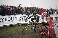 Lars van der Haar (NED/Telenet-Fidea)<br /> <br /> elite men's race<br /> CX Superprestige Noordzeecross <br /> Middelkerke / Belgium 2017