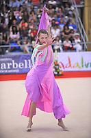 Melitina Staniouta of Belarus performs gala  at 2010 Grand Prix Marbella at San Pedro Alcantara, Spain on May 16, 2010. Melitina placed 4th AA at Marbella 2010. (Photo by Tom Theobald).