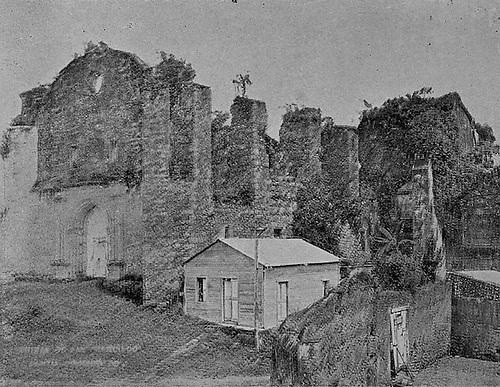 Ruinas de San Francisco. Revista Blanco y Negro. Septiembre 19, 1925.