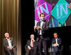 LibDems IN Europe Campaign Event at Bafta, London, Great Britain <br /> 7th June 2016 <br /> <br /> Nick Clegg MP<br /> former leader of LibDems and former Deputy Prime Minister <br /> <br /> Paddy Ashdown <br /> former party leader <br /> <br /> Ming Campbell <br /> former party leader <br /> <br /> Tim Farron <br /> Leader of the Liberal Democrats <br /> <br /> Photograph by Elliott Franks <br /> Image licensed to Elliott Franks Photography Services