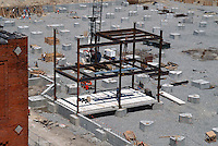 1997 May 06..Redevelopment..Macarthur Center.Downtown North (R-8)..CONSTRUCTION ON NORTWEST CORNER.PROGRESS PHOTO...NEG#.NRHA#..