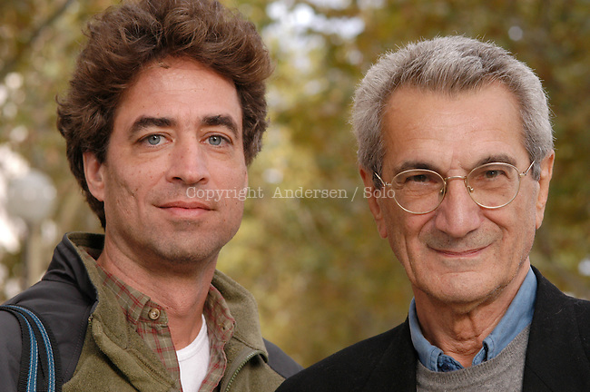 Michael Hardt and Toni Negri , american professor and italian philosopher.