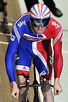 20/02/2011 - Mens Team Pursuit - Track World Cup - Manchester Velodrome