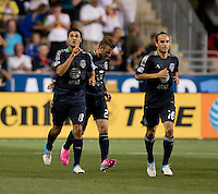 Chris Wondolowski.  The MLS All-Stars defeated Chelsea, 3-2.