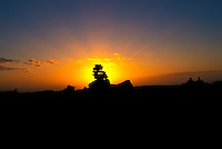 Garden of the Gods at sunset