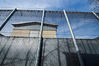 Harmondsworth Immigration Removal Centre. Near Heathrow Airport in West London 10-3-15