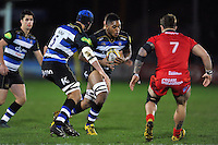 Levi Douglas of Bath United in possession. Aviva A-League match, between Bath United and Bristol United on December 28, 2015 at the Recreation Ground in Bath, England. Photo by: Patrick Khachfe / Onside Images