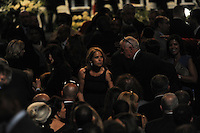 Media personality Katie Couric before the memorial service for boxing legend Muhammad Ali at the KFC Yum! Center in Louisville, Kentucky on June 10, 2016.  Ali was involved in the planning of the ceremony which included speeches from leaders of numerous faith as well as comedian Billy Crystal and former American President Bill Clinton.