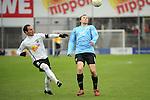 Sandhausen 05.12.2009, 3. Liga SV Sandhausen - FC Ingolstadt 04, Sandhausens Roberto Pinto gegen Ingolstadts Tobias Fink<br /> <br /> Foto &copy; Rhein-Neckar-Picture *** Foto ist honorarpflichtig! *** Auf Anfrage in h&ouml;herer Qualit&auml;t/Aufl&ouml;sung. Ver&ouml;ffentlichung ausschliesslich f&uuml;r journalistisch-publizistische Zwecke. Belegexemplar erbeten.