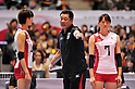 Masayoshi Manabe Japan Women's Volleyball Team Head coach (JPN),.NOVEMBER 17,2011 - Volleyball : FIVB Women's Volleyball World Cup 2011,4th Round Tokyo(A) during match between Japan 3-2 Germany at 1st Yoyogi Gymnasium, Tokyo, Japan. (Photo by Jun Tsukida/AFLO SPORT) [0003].