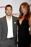LAS VEGAS - APR 23:  D.J. Cotrona, Adriane Palicki arrives at the Paramount Studios Presentation at CinemaCom 2012 at Caesars Palace on April 23, 2012 in Las Vegas, NV