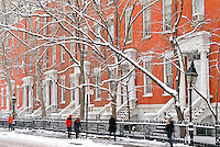 Winter Scenes in New York City
