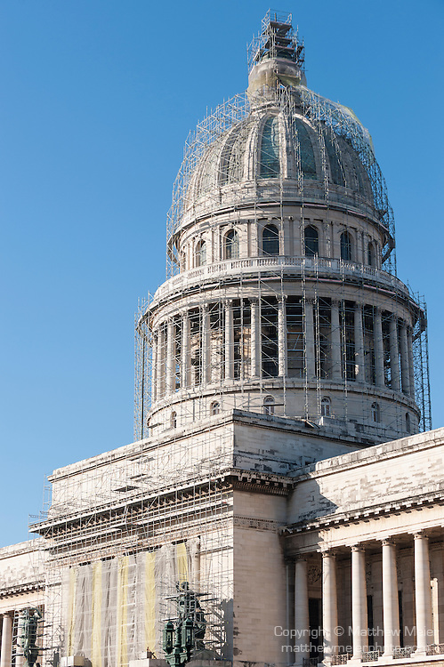 Capitol Building Scaffolding : Capital dome havana cuba g matthew meier
