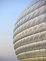 Fussball International  WM Qualifikation 2014   06.09.2013 Deutschland -  Oesterreich  Aussenhuelle der Allianz Arena Muenchen