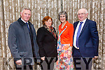 Enjoying the Lee Strand Social at Ballygarry House Hotel on Saturday were Michael Gleeson, Noreen Gleeson, Mary McGaley and Aidan McGaley