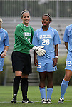 18 September 2009: North Carolina's Ashlyn Harris (18) and Nikki Washington (26). The University of North Carolina Tar Heels defeated the Louisiana State University Tigers 1-0 at Koskinen Stadium in Durham, North Carolina in an NCAA Division I Women's college soccer game.