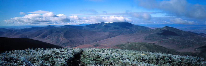 Mt Lafayette And The Pemigewasset Wilderness From South Twin Peter Randall Photography