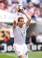 Jonathan Spector. The USMNT defeated Turkey, 2-1, at Lincoln Financial Field in Philadelphia, PA.
