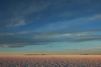 Sunrise on the Salar de Uyuni, Potosi, Bolivia