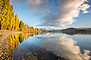 Mirror Reflection, Lake Wanaka, Autumn
