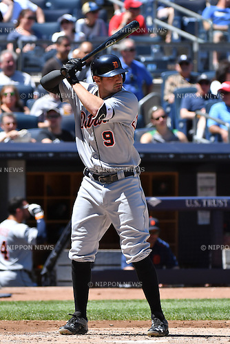 Nick Castellanos (Tigers),<br /> JUNE 12, 2016 - MLB :<br /> Nick Castellanos of the Detroit Tigers during the Major League Baseball game against the New York Yankees at Yankee Stadium in the Bronx, New York, United States. (Photo by Hiroaki Yamaguchi/AFLO)
