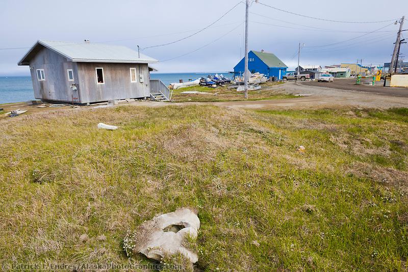 Inupiaq eskimo native village Utqiagvik (Barrow), Alaska.