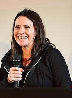 Béatrice Dalle lors de la 30e édition du Festival International du Film D'amour à Mons - Belgique
