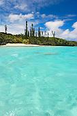Plage de l'île Nä nä, baie des Crabes, Gadji, Nord de l'Ile des Pins, Nouvelle-Calédonie