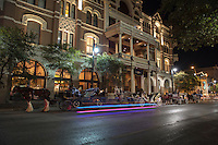 A carriage ride, dinner and an over night stay make for the perfect evening when visiting 6th Street in downtown Austin, Texas.