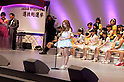 June 6, 2012, Tokyo, Japan - Speech of Tomomi Itano, 8th at election.  AKB General Election at Nippon Budokan. The biggest girl band in the world and Japan's most popular pop group elected its new leader in a nationwide election open to all fans. The collective is organised into different units which in turn are sometimes split into smaller groups. The night involved singing, games, tears and the eventual crowning of new leader Yuko Oshima from Team K with 108837 votes for most popular member..