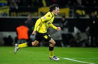 FUSSBALL   CHAMPIONS LEAGUE   SAISON 2011/2012  Borussia Dortmund - Olympique Marseille   06.11.2011 Mats HUMMELS (Dortmund) bejubelt seinen Treffer zum 2:0
